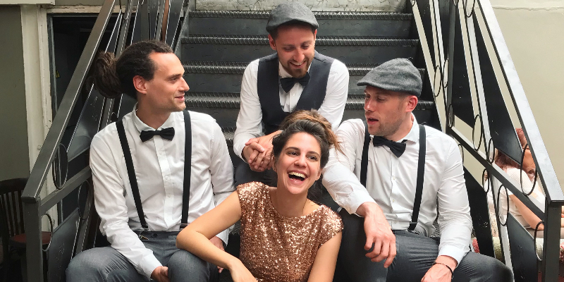 Whisper Note, groupe de musique Jazz en représentation - photo de couverture n° 1