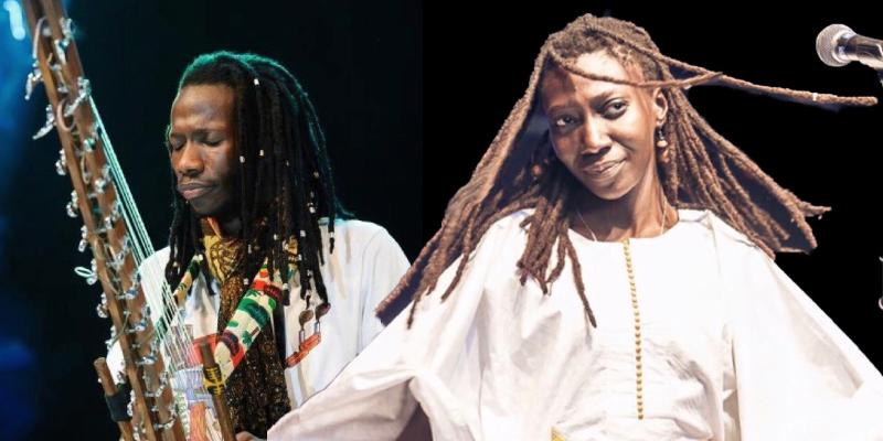 Mariama & Vieux, groupe de musique Acoustique en représentation à Loire Atlantique - photo de couverture