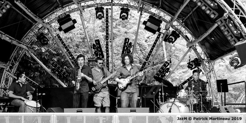 Xolot Corp, groupe de musique Jazz en représentation à Paris - photo de couverture n° 3