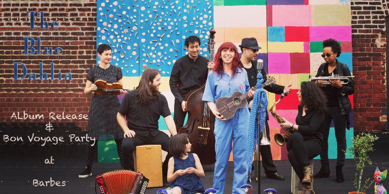 Dumont, Dahlia, groupe de musique Folk en représentation à Hauts de Seine - photo de couverture n° 1