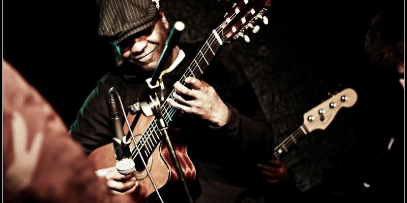 kired, musicien Jazz en représentation - photo de couverture