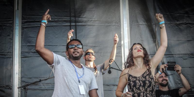 Grezou, groupe de musique Hip-Hop en représentation - photo de couverture n° 1