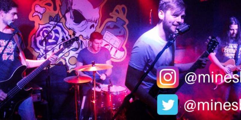 MINES , groupe de musique Rock en représentation à Pyrénées Atlantiques - photo de couverture