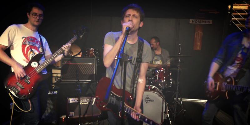 The Maryleens, groupe de musique Rock en représentation - photo de couverture n° 2
