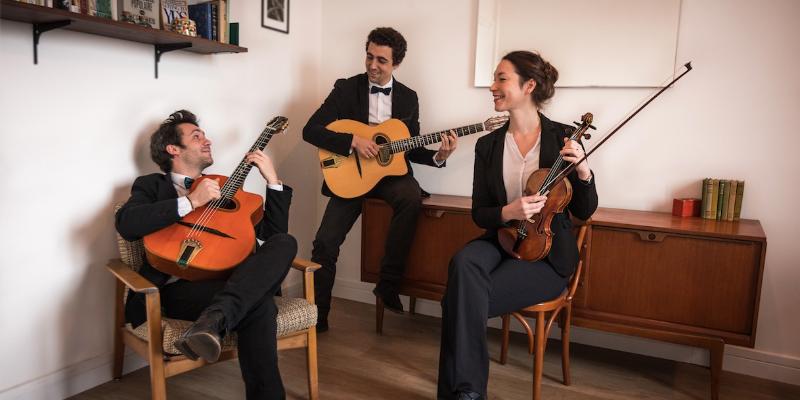 Dyslexic Swing & The Silent..., groupe de musique Guitariste en représentation à Paris - photo de couverture n° 2