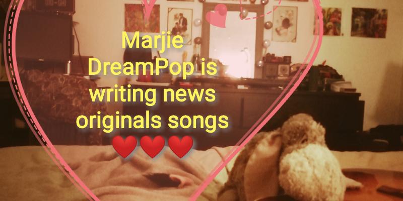 Marjie DreamPop , groupe de musique Chanteur en représentation à Essone - photo de couverture n° 3