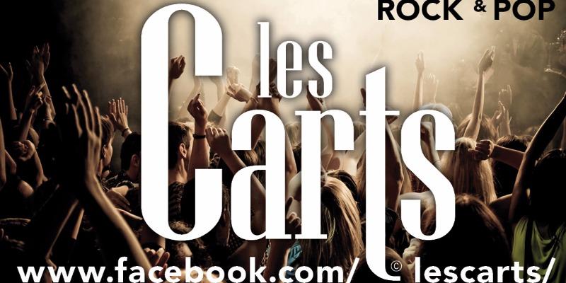Les CARTS, groupe de musique Rock en représentation à Paris - photo de couverture n° 1