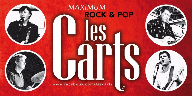 Les CARTS, groupe de musique Rock en représentation à Paris - photo de couverture n° 2