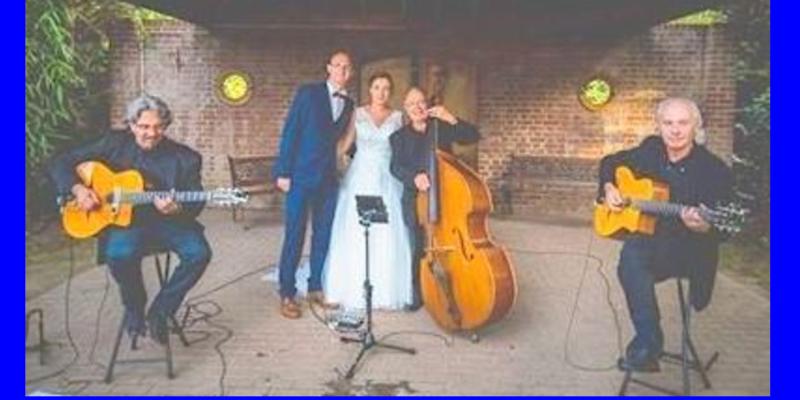 Syscat Swing, groupe de musique Jazz manouche en représentation - photo de couverture n° 1