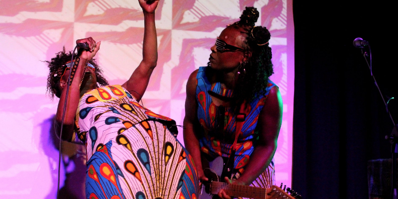Germaine Kobo & Bella Lawson, musicien Electronique en représentation à Bouches du Rhône - photo de couverture n° 2