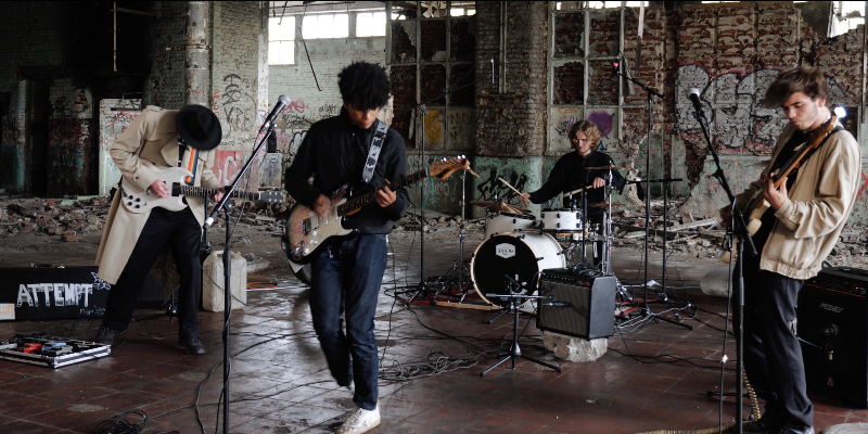 ATTEMPT BAND , groupe de musique Rock en représentation à Nord - photo de couverture n° 3