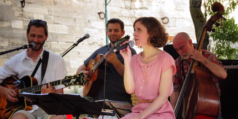 Maryline Rollet, musicien Jazz en représentation à Paris - photo de couverture n° 2