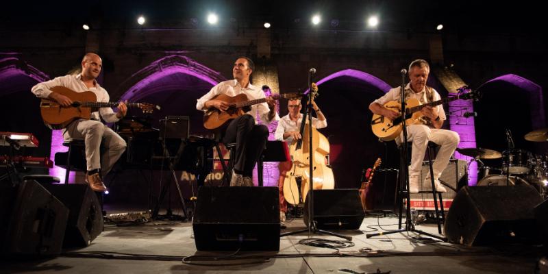 Django-Charlie, groupe de musique Jazz en représentation - photo de couverture n° 1