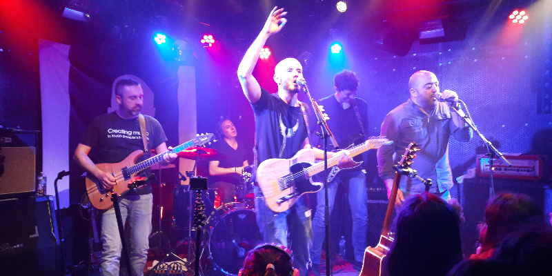 Menech', groupe de musique Rock en représentation à Seine et Marne - photo de couverture