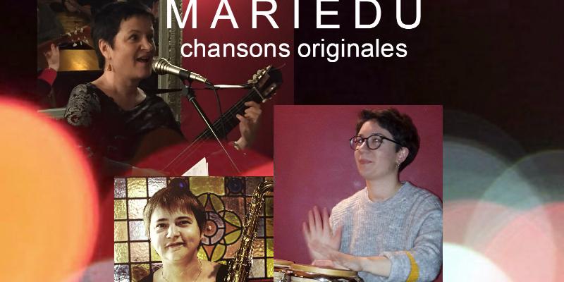 MARIEDU, musicien Chanteur en représentation - photo de couverture n° 2
