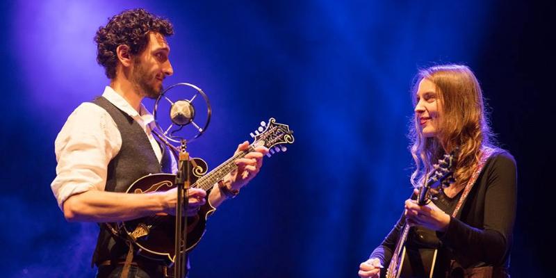 Glenn Arzel & Claire Nivard, musicien Folk en représentation à Rhône - photo de couverture n° 1