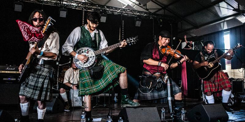 Blood Of The Green - Celtic Powerfolk, groupe de musique Rock en représentation à Paris - photo de couverture n° 1