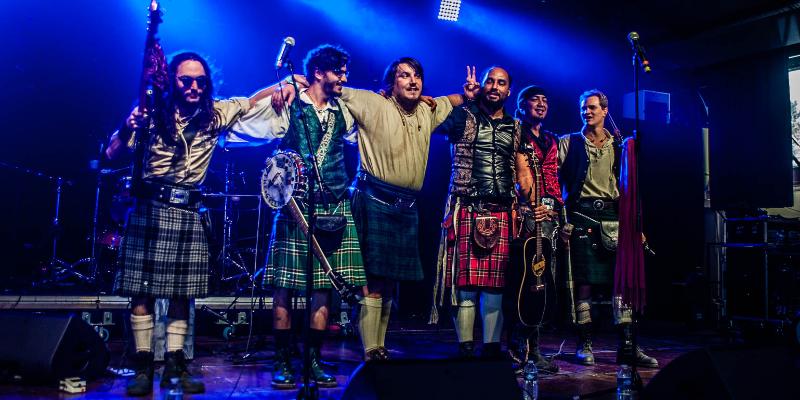 Blood Of The Green - Celtic Powerfolk, groupe de musique Rock en représentation à Paris - photo de couverture n° 3