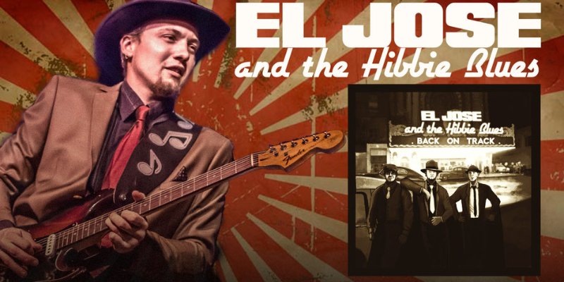 El Jose & The Hibbie Blues, groupe de musique Blues en représentation à Rhône - photo de couverture n° 1