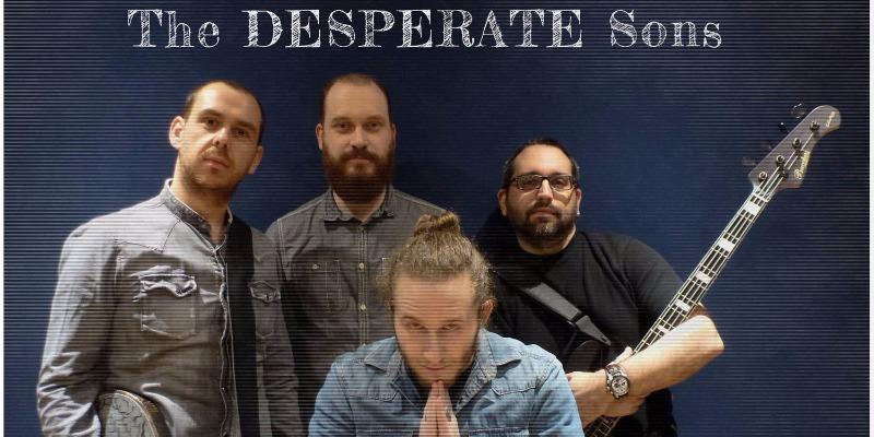 The Desperate Sons, groupe de musique Rock en représentation à Seine et Marne - photo de couverture