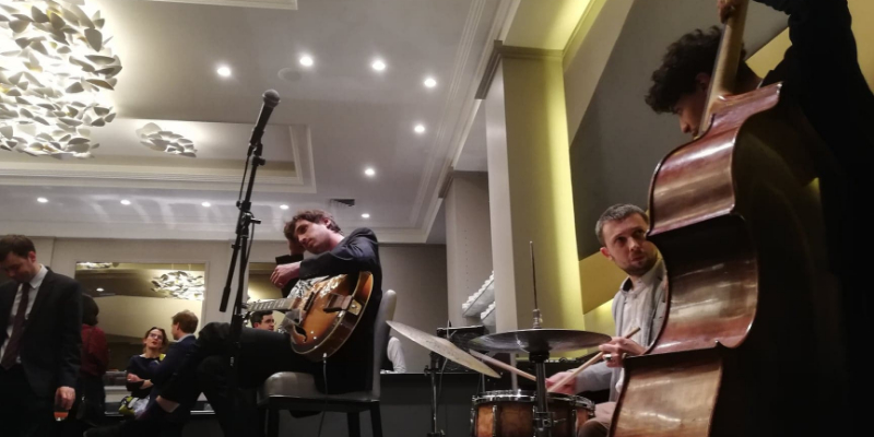 Le Charly's Corner, groupe de musique Jazz en représentation à Paris - photo de couverture n° 2