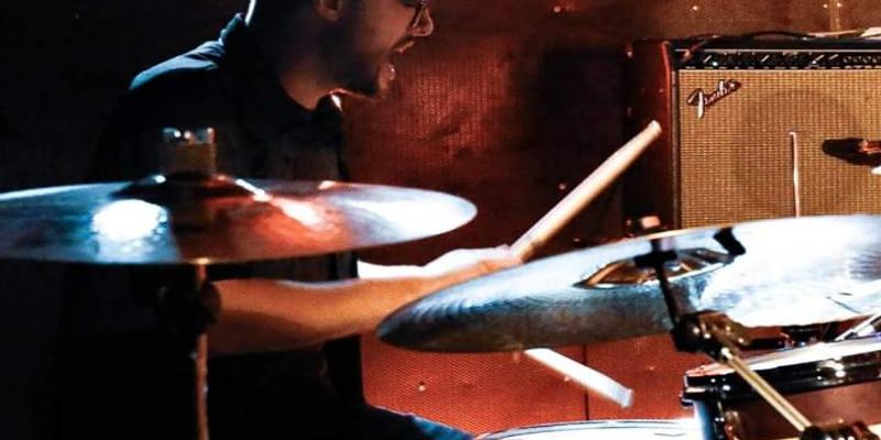 Fabrice, musicien Rock en représentation à Nord - photo de couverture