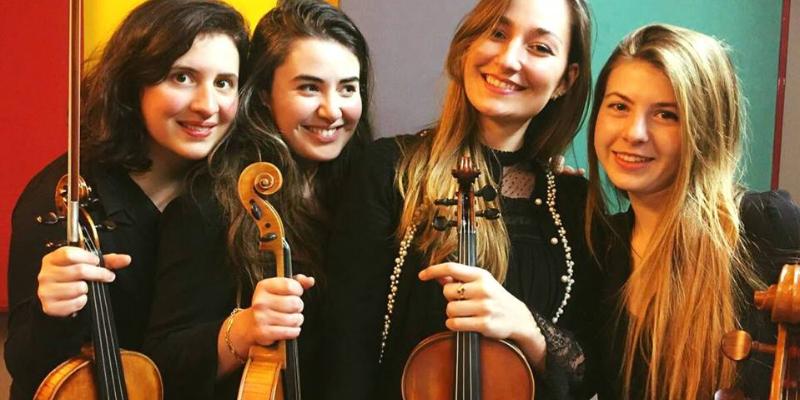 Pauline, groupe de musique Classique en représentation à Val de Marne - photo de couverture