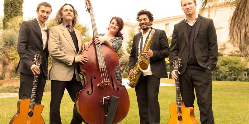 Cordes Nomades, groupe de musique Jazz en représentation à Hérault - photo de couverture n° 1