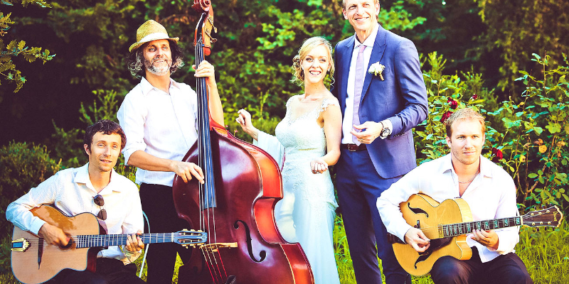 Cordes Nomades, groupe de musique Jazz en représentation à Hérault - photo de couverture n° 2