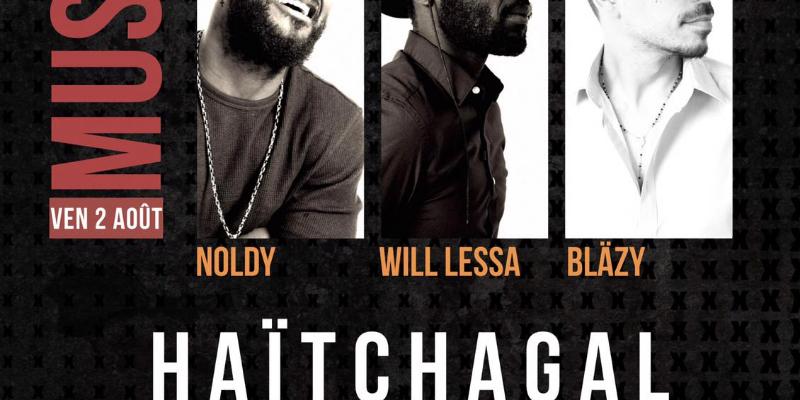 Haïtchagal, groupe de musique Pop en représentation à Orne - photo de couverture