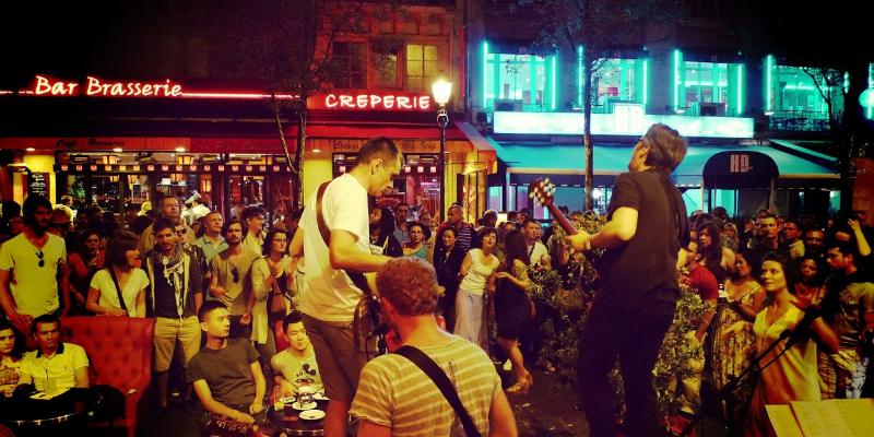 Nrg, groupe de musique Rock en représentation à Paris - photo de couverture