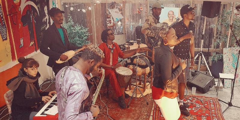 Saho Ba, groupe de musique Jazz en représentation à Paris - photo de couverture n° 2
