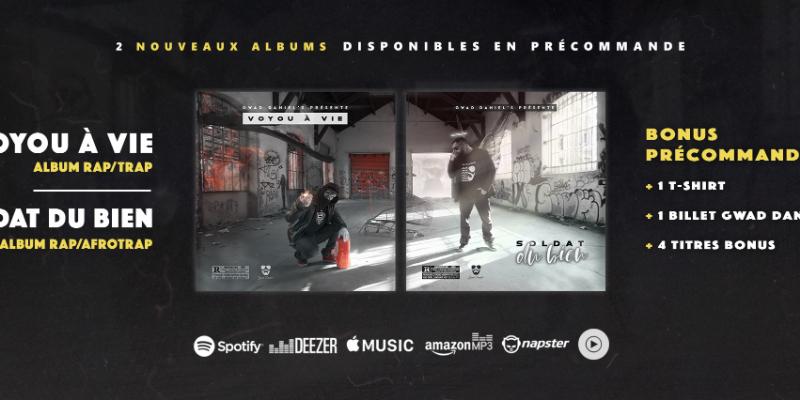 Gwad Daniel's , groupe de musique Hip-Hop en représentation à Puy de Dôme - photo de couverture n° 1