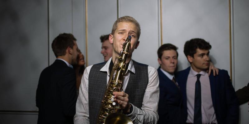 Flo Sax, musicien Electronique en représentation à Nord - photo de couverture n° 2