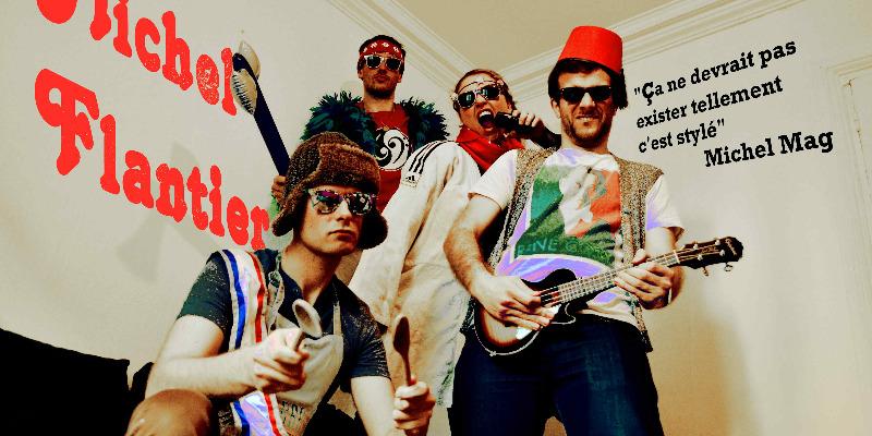 Michel Flantier, groupe de musique Rock en représentation - photo de couverture n° 2